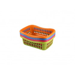 košík TIN 22x16x8cm PH mix barev      (malý)