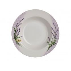 talíř hluboký 21,6cm LAVENDER porcelánový