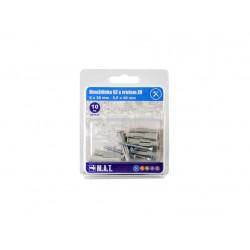 hmoždinka UZ pr. 6mm s vrutem ZH ZB (10ks)