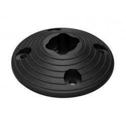 základna kruhová odnímatelná pr.200x50mm, ke sloupku 791873, ABS