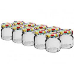 sklenice  40ml + víčka barev. 43 (10ks)