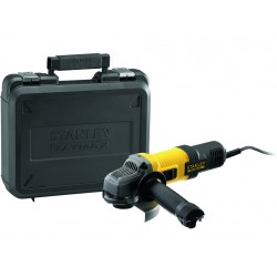 bruska úhlová 125mm/ 850W, kufr, FMEG220K-QS, STANLEY