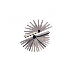 měrky spárové 0,05-1mm, 13 listů  6005
