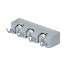 držák na nářadí 26x6,2x8,3cm, 3 úchyty