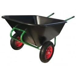 kolečko zahradní dvoukolé 210l, 120kg, nafukovací 400-8, PH