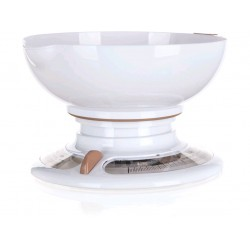 váha kuchyňská 3kg mechanická CULINARIA WHITE