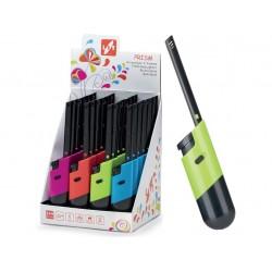 zapalovač PRISM 19cm plamínkový, dětská pojistka, mix barev