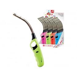zapalovač TWIST flexi 27cm plamínkový, dětská pojistka, mix barev