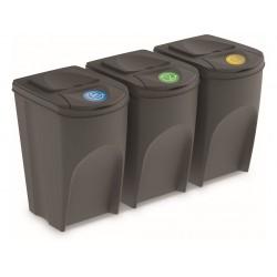 koš na tříděný odpad 3x35l PH ŠE