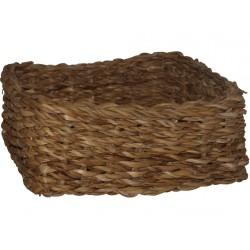 košík hranatý nízký velký 26x26x12cm mořská tráva