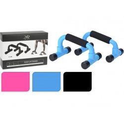 podpěry na cvičení …x…cm kov XQ MAX mix barev (2ks)