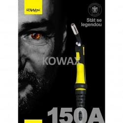 KOWAX® Hořák 150A, 4m EURO Hořák ruční MIG/MAG