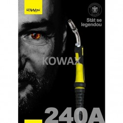 KOWAX® Hořák 240A, 4m EURO Hořák ruční MIG/MAG