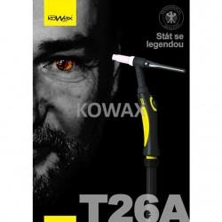 KOWAX® Hořák T26A, 4m Hořák ruční TIG