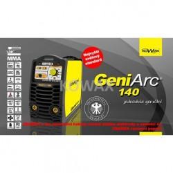 GeniArc140 - Svářečka pro MMA, TIG včetně 3m kabelů, svorky, a držákem elektrody
