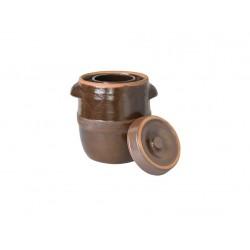 sud na zelí 17l + víko, keramika