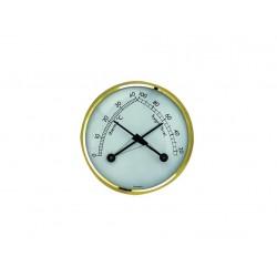 teploměr - vlhkoměr kombinace pr.7cm kov.  45.2006