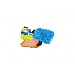rukavice čisticí mikrovlákno žinylka mix barev