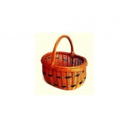 košík na ovoce menší 32x28x25cm lakovaný